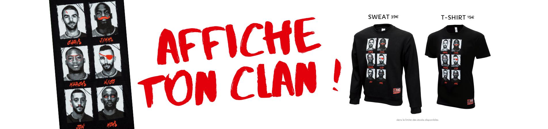 Affiche ton clan!