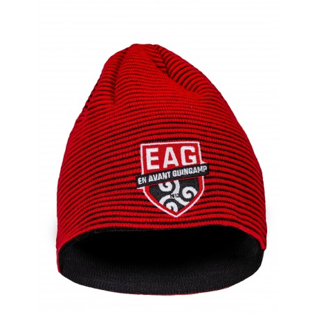 Bonnet Rayé rouge et noir