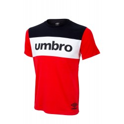 T SHIRT UMBRO ROUGE