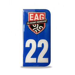 STICKER PLAQUE AUTO LOGO EAG