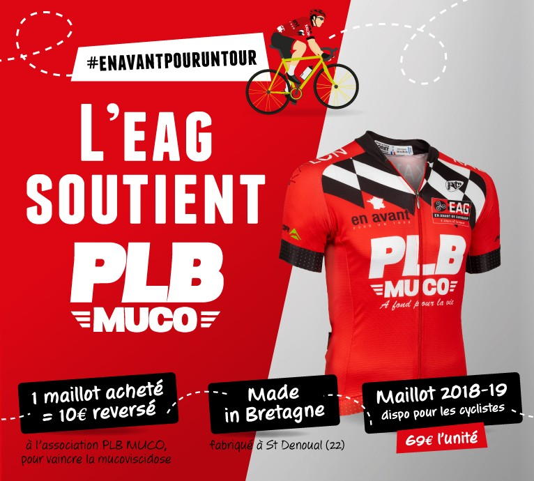 MAILLOT CYCLISTE PLB MUCO 2018/2019