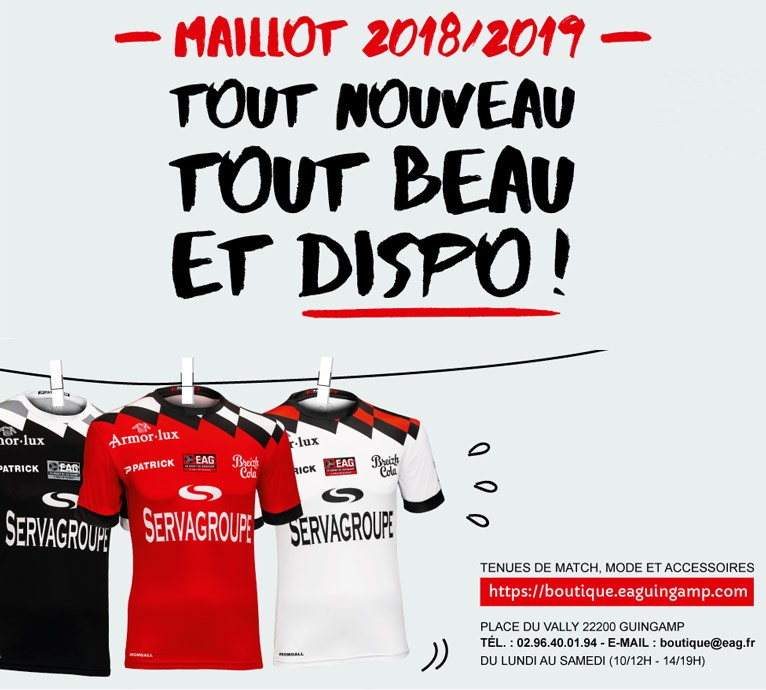 maillot 2018/2019